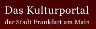 das kulturportal frankfurt logo