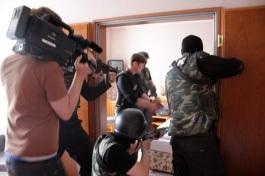 dreharbeiten, filmproduktion cucina