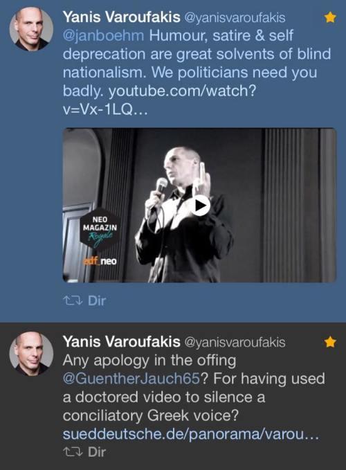 varoufakis twitter