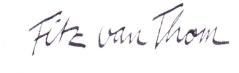 unterschrift fitz van thom